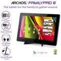 "Archos 13.3"" Tablet FAMILY PAD (Dual Core, WIFi, JellyBean, Huge Display)"